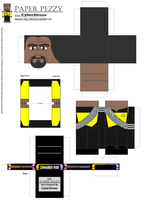 Paper Pezzy- Cmdr Worf 'TNG' by CyberDrone