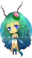 Lil Fishy Chibi + Speedpaint by RumCandyAdopt
