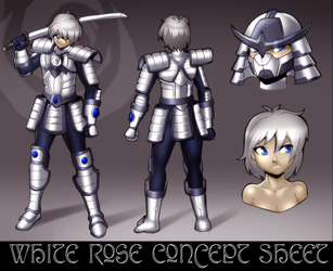 White Rose Concept Sheet by Severflame