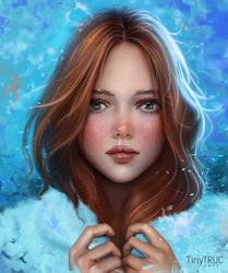 COLD GIRL by TinyTruc