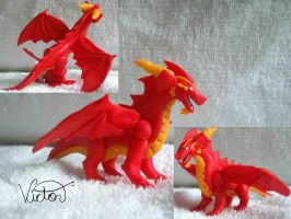 Red dragon by VictorCustomizer
