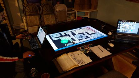 Game Table 3.0  -  In use pic 2 by cyderak