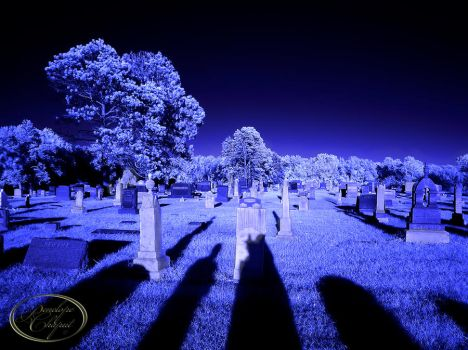 Cemetery in Blues by Pennes-from-Heaven