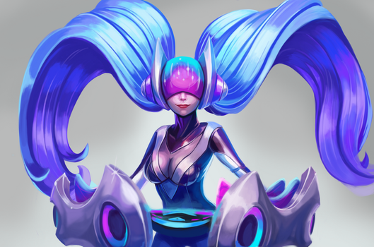 DJ Sona - League of Legends by Aoshi7