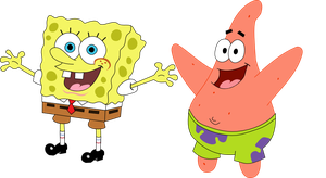 SpongeBob and Patrick Icon Pack by NePosas