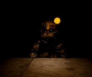 Scrap FredBear Jumpscare by nightmarefoxypirate0