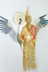 Anyanwu Lady of the Sun and Agbala the Oracle by Ikechi1