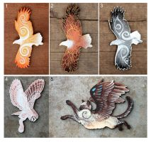 Winged accessories by hontor