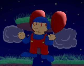 All Star Character #3: STAN THE BALLOON FIGHTER by DerekminyA