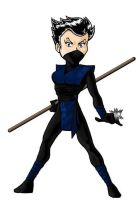 Gaming Character: Ninja by BloodyWilliam
