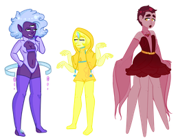 Aura Quartz Adopts (CLOSED) by CandieStars