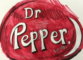 dr. pepper logo by xxmidnight12xx