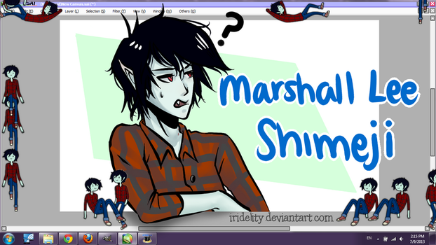 Marshall Lee Shimeji + Download by Zykodelic