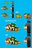 Bowser's Cannon Freakout by ShyGuyXXL
