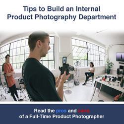 How to Build an Internal Product Photography Dept. by clippingpathindia