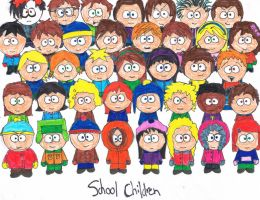 south park children by Lizzy200