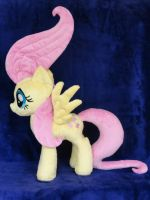 Fluttershy and the Manticore by WhiteDove-Creations