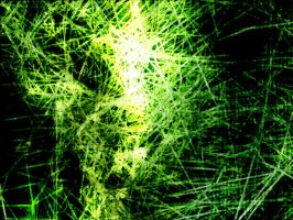 Green Abstract Explosion V1 by DIN1031