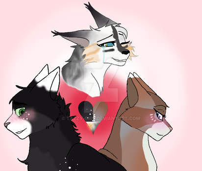 Love Triangle by Tazzy-girl