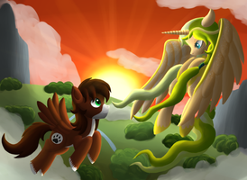 :Contest Entry: We Own the Sky by rko509