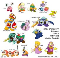 Kirby Collage 1 by IvynaJSpyder