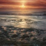 Tidal Sunset by Miguel-Santos