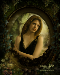 Framed Girl by zoozee