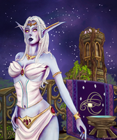 Azshara by Saliancia