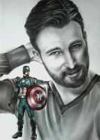 Chris Evans by KateFrankienaBeck