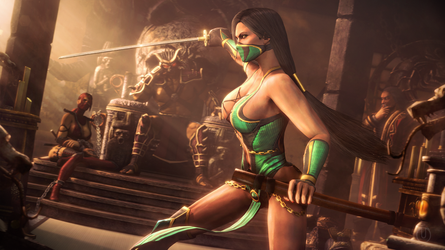 Sparring With Jade | Mortal Kombat by Urbanator