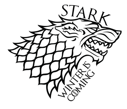 House Stark Tattoo by B-Southern