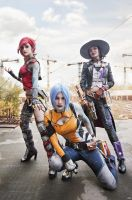 Borderlands 2: Sheriff and Sirens by Harusame-chan