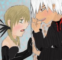 maka x soul by notsuchanepicperson