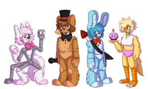 Toy Gang by MidnightHourSal