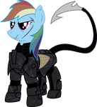 The First Dashite (Battle Worn) (2 of 2) by TheHolyTuna
