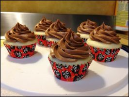 Pirate Cuppycakes by Deathbypuddle