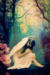 Angel of the forest by Marilis5604