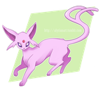 Pokemon Drawing Challenge - Day 4: Espeon by OtakuGirl98