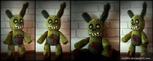 Five Nights At Freddy - Springtrap Plush by roobbo