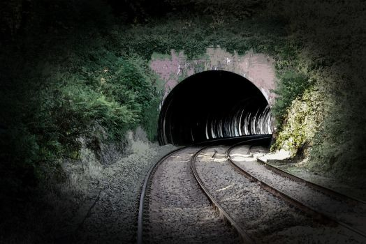 Railway Tunnel by Colin-Bentham