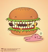 monster burger by NOF-artherapy