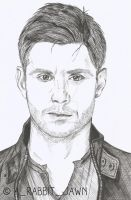 Jensen Ackles as Dean Winchester by Arabbitjawn
