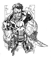 The Punisher by AdversaryComix