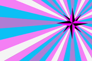 Queer Trans Anarchy Flag by itzcitlalli