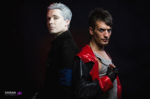 Dante and Vergil - DmC Cosplay - Nephilim Brothers by LeonChiroCosplayArt