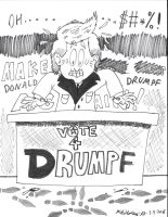 Make Donald Drumpf Again by JCSStudio
