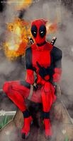 DEADPOOL by drowsyghost