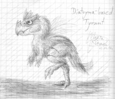 Diatryma based Tyrunt by Weirda-s-M-art