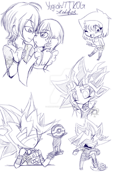 TTKOG Sketches 1 by sakaruchibi