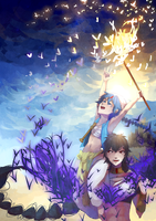 Magi - Aladdin and Judal by MnCrumble